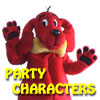 party charcters for hire in Fort Worth