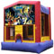Your kids will love our batman bounce houses for rent in Houston