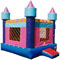 Your daughter will love our pink castle bounce house for rent in Frisco Texas